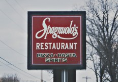 Spagnuolo's Restaurant Sign